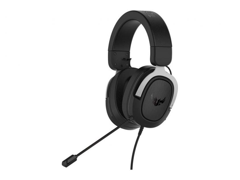 Gaming Headset Asus TUF H3 Gun-Metal Wired (90YH028G-B1UA00)