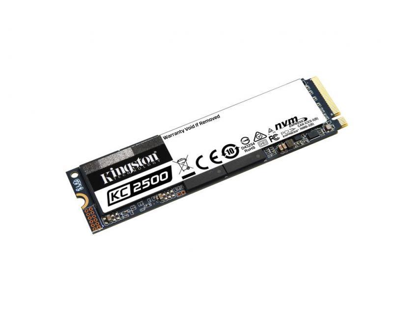 Εσωτερικός Σκληρός Δίσκος SSD Kingston KC2500 250GB M.2 (SKC2500M8/250G)
