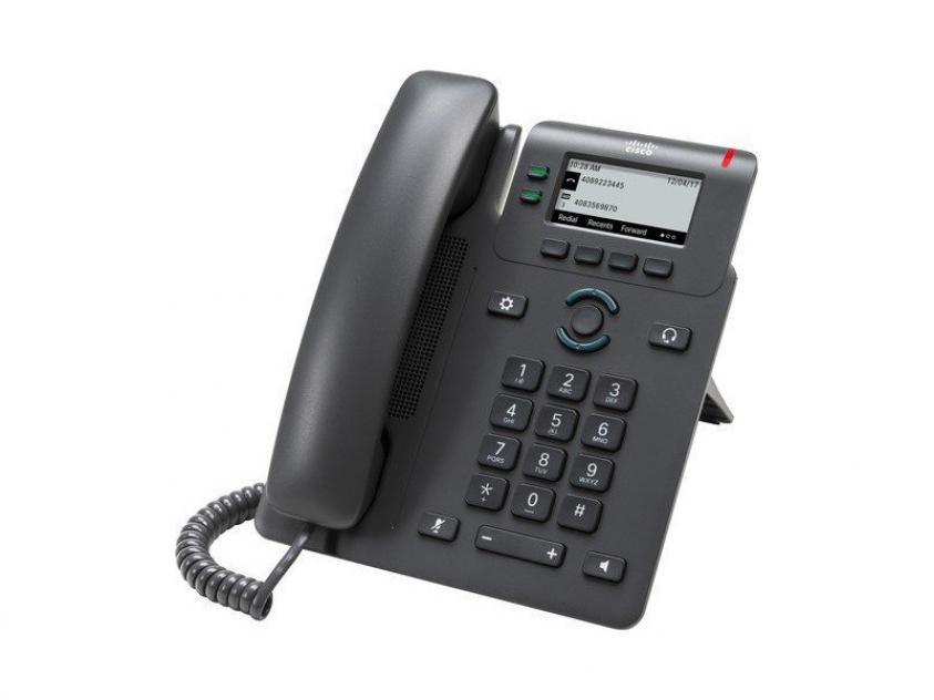Τηλέφωνο IP Cisco 6821 Black (CP-6821-3PCC-K9)