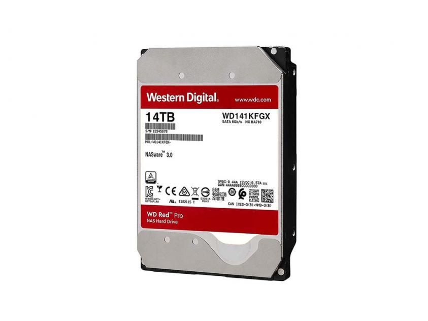 Εσωτερικός Σκληρός Δίσκος HDD Western Digital Red Pro 14TB SATA III 3.5-inch (WD141KFGX)