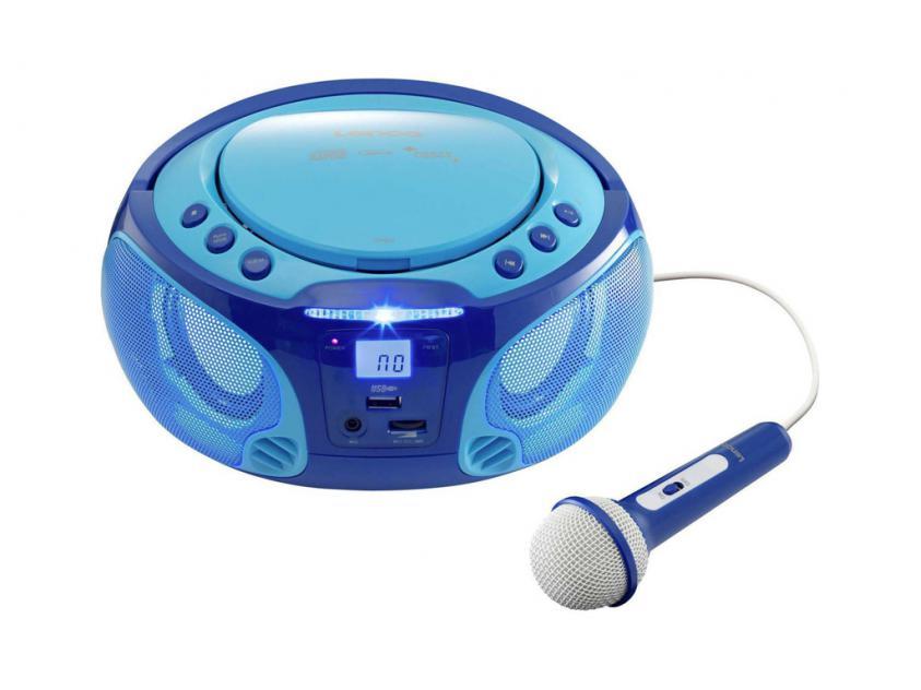 Φορητό Ραδιόφωνο Lenco SCD-650 Blue (LEN-SCD-650BL)