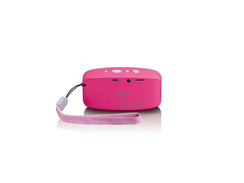 Φορητό Ηχείο Lenco BT-120 Pink (BT-120 PINK)