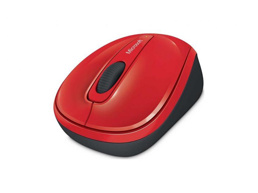 Ποντίκι Microsoft 3500 3500 Red Wireless (GMF-00196)