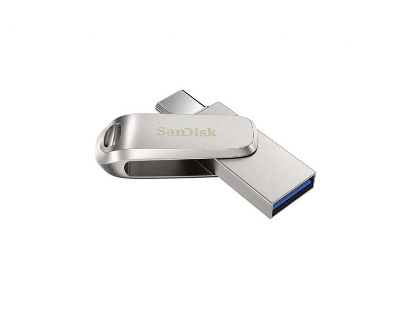 USB Flash Drive SanDisk Ultra Dual Drive Luxe USB 3.1 64GB (SDDDC4-064G-G46)