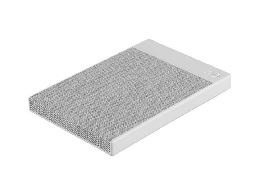 Εξωτερικός Σκληρός Δίσκος HDD Seagate Backup Plus Ultra Touch 2TB USB 3.0 White (STHH2000402)