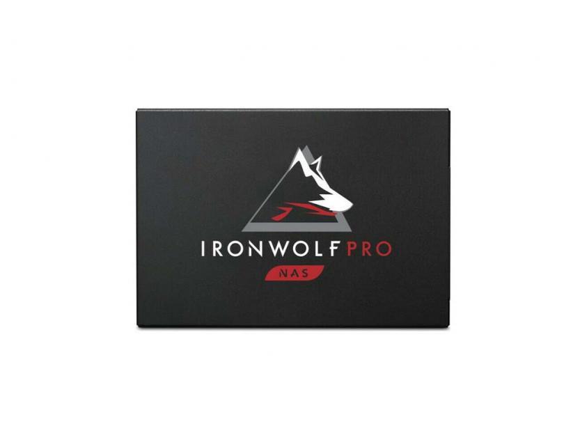 Εσωτερικός Σκληρός Δίσκος SSD Seagate Ironwolf Pro 125 NAS 3.84TB 2.5-inch (ZA3840NX1A001)
