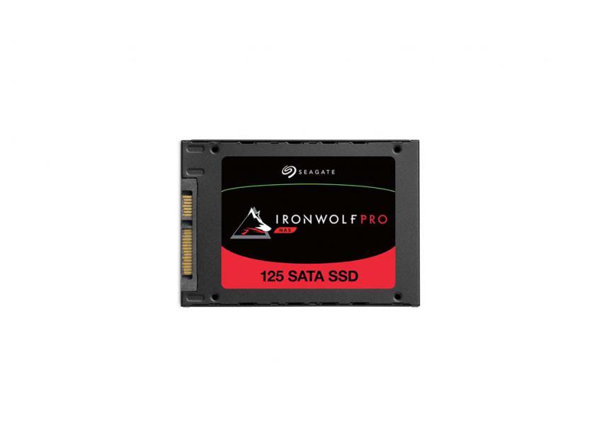 Εσωτερικός Σκληρός Δίσκος SSD Seagate Ironwolf Pro 125 NAS 240GB 2.5-inch (ZA240NX1A001)
