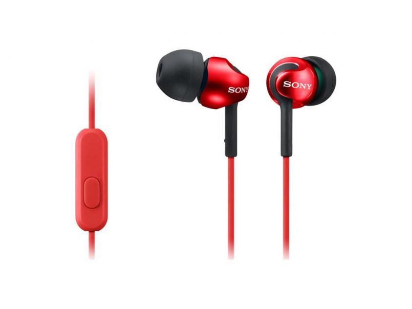 Ακουστικά Sony MDREX110APR Red (MDREX110APR)