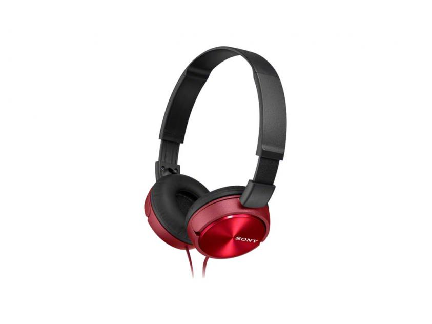 Ακουστικά Sony MDR-ZX310R Red Wired (MDRZX310R)