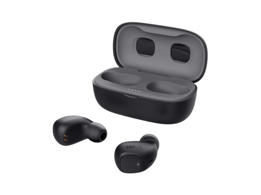 Ακουστικά Trust Nika Compact Bluetooth Black (23555)