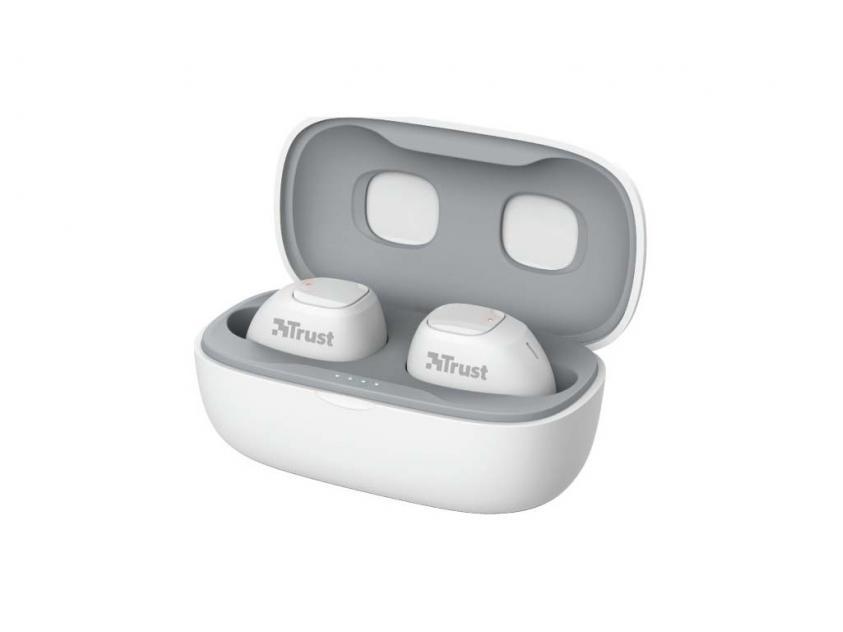 Ακουστικά Trust Nika Compact White (23904)