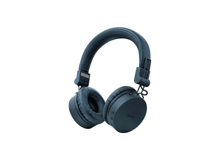 Ακουστικά Trust Tones Bluetooth Blue (23908)