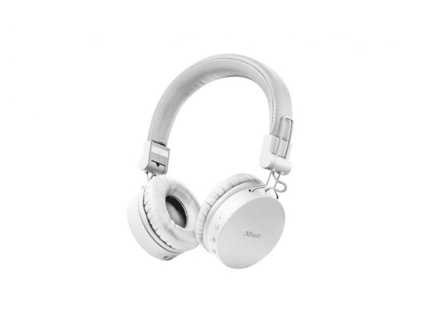 Ακουστικά Trust Tones Bluetooth White (23909)