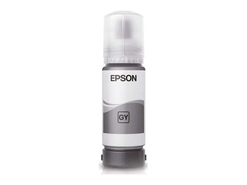 Μελάνι Ink Epson 115 Grey 6200Pgs (C13T07D54A)