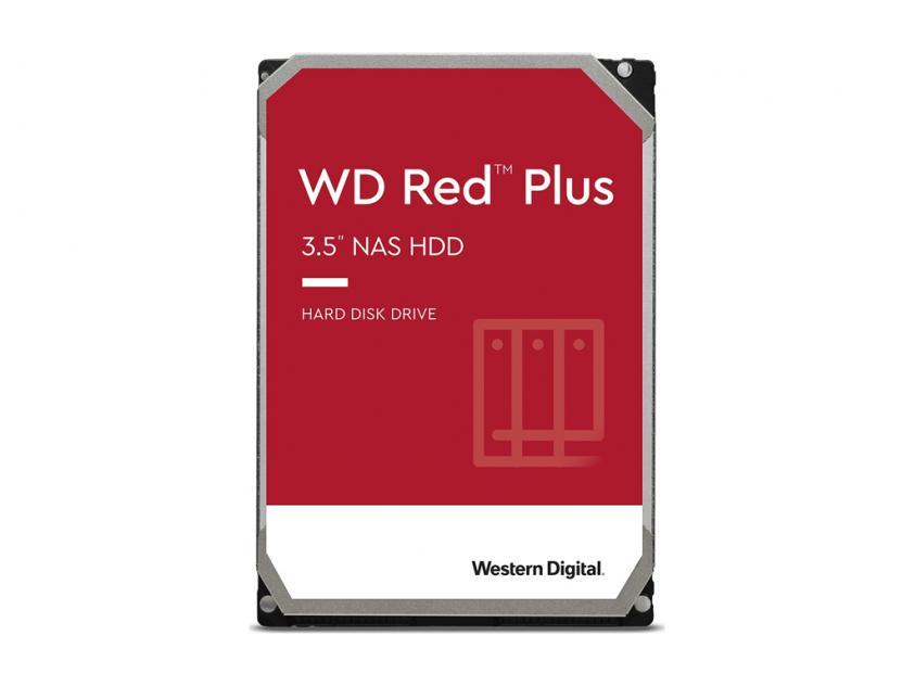 Εσωτερικός Σκληρός Δίσκος HDD Western Digital Red Plus NAS 3TB SATA III 3.5-inch (WD30EFZX)