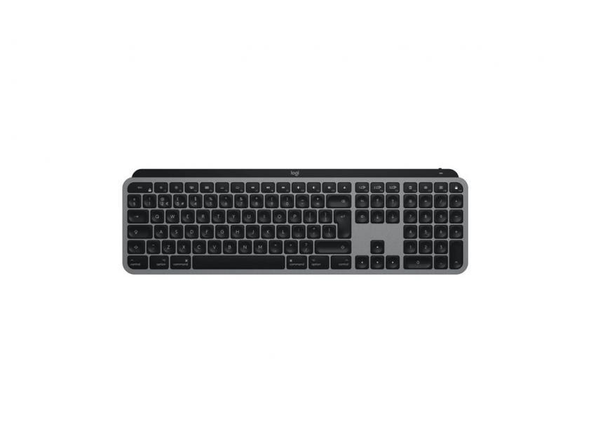 Πληκτρολόγιο Logitech MX-Keys For Mac Illm Grey Wireless US Layout (920-009558)