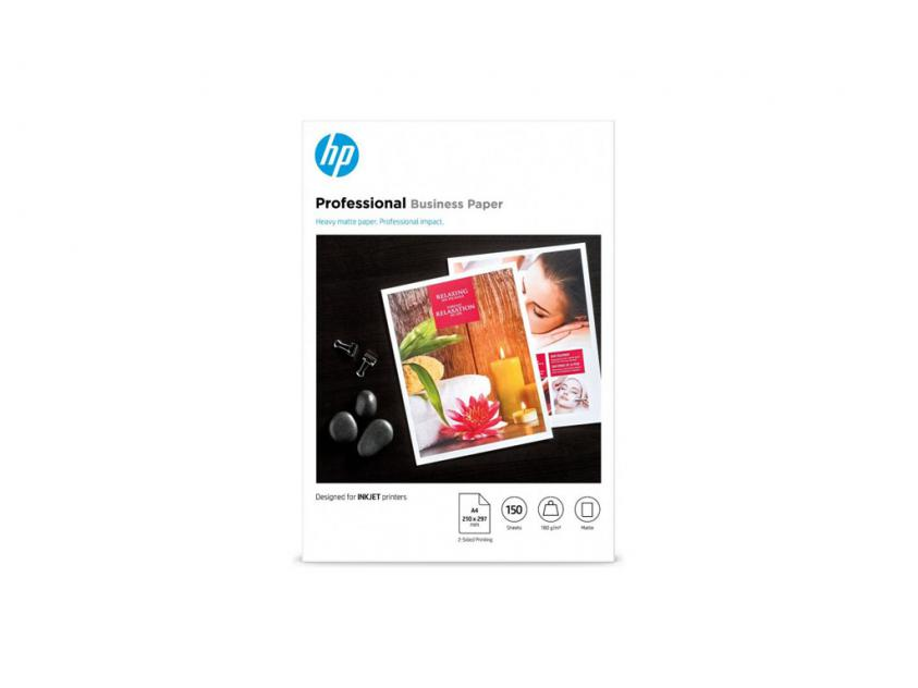 Φωτογραφικό Χαρτί HP Professional LaserJet Matte A4 200g 150-Sheets (7MV79A)