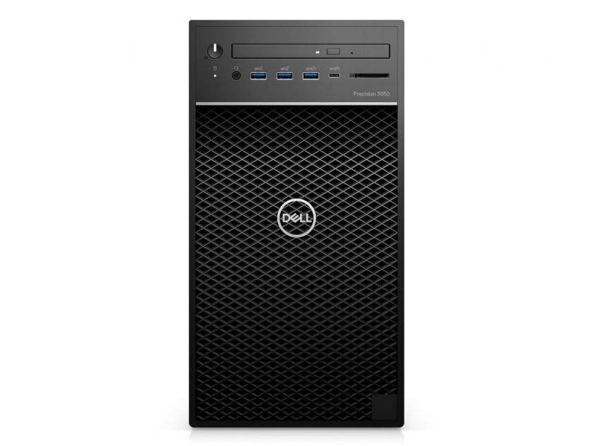 Workstation Desktop Dell Precision 3650 MT i9-11900/32GB/512GBSSD/1TBHDD/Nvidia Quadro RTX 4000/W10P/3Y (471457676)