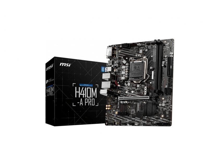 Μητρική MSI H410M-A Pro (7C89-008R)