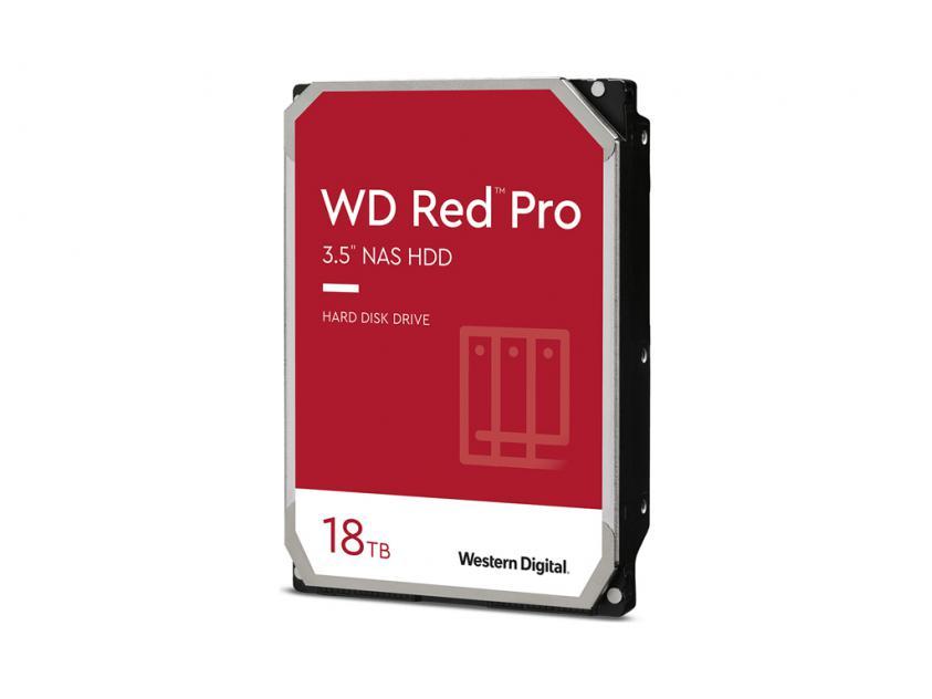 Εσωτερικός Σκληρός Δίσκος HDD Western Digital Red Pro 16TB SATA III 3.5-inch (WD181KFGX)