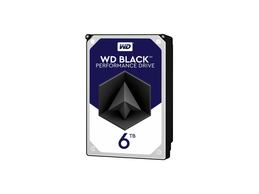 Εσωτερικός Σκληρός Δίσκος HDD Western Digital Black 6TB SATA III 3.5-inch (WD6003FZBX)