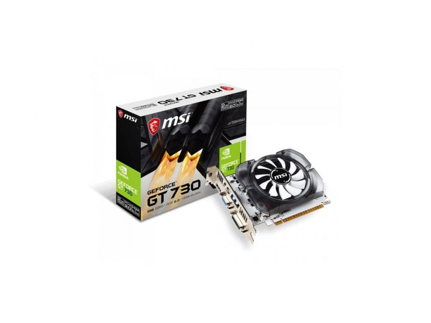 Κάρτα Γραφικών MSI GeForce GT N730 2GB (912-V809-2201)