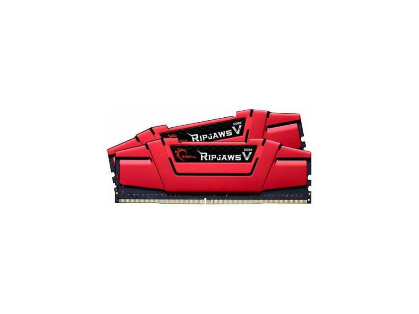 Μνήμη RAM G.Skill RipjawsV 8GB Kit (2x4GB) DDR4-2666MHz (F4-2666C15D-8GVR)
