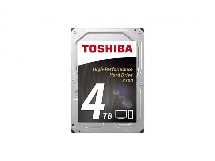 Εσωτερικός Σκληρός Δίσκος HDD Toshiba X300 4TB SATA III 3.5-inch (HDWE140UZSVA)