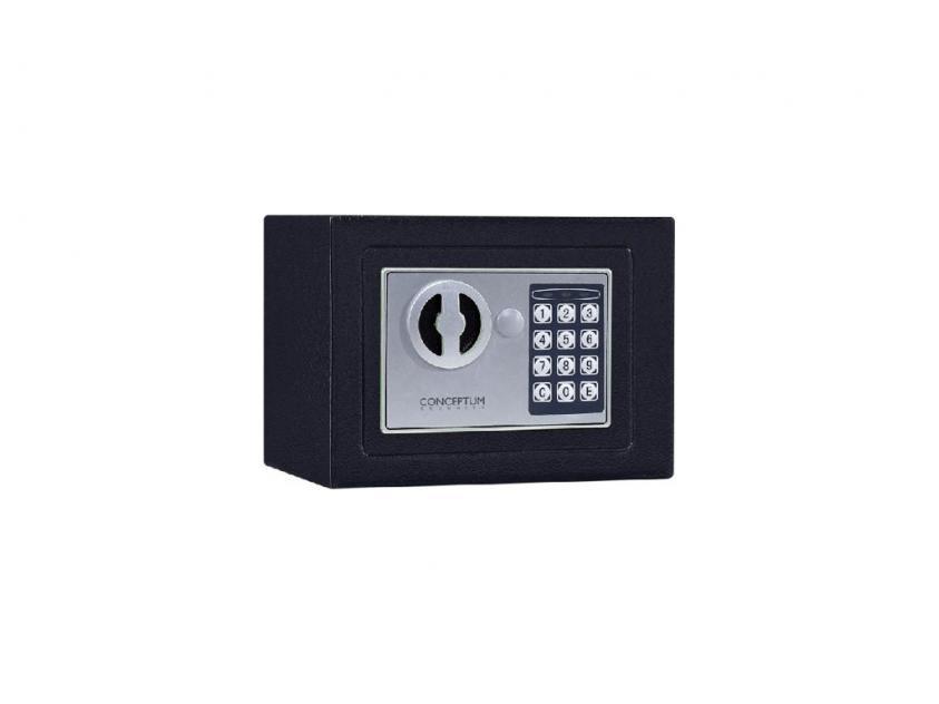 Χρηματοκιβώτιο Conceptum 17E mini Μαύρο (5200250814913)