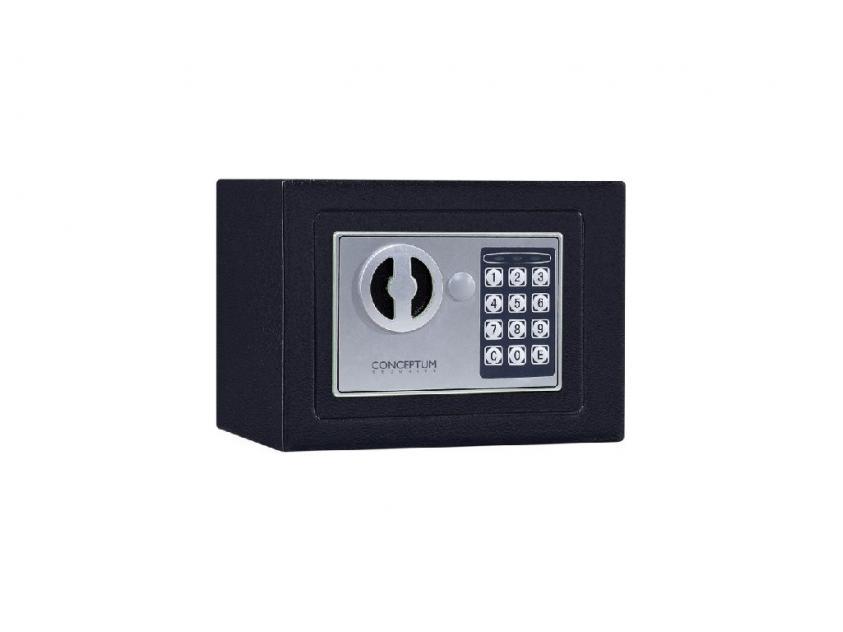 Χρηματοκιβώτιο Conceptum 50E mini Μαύρο (5200250814951)