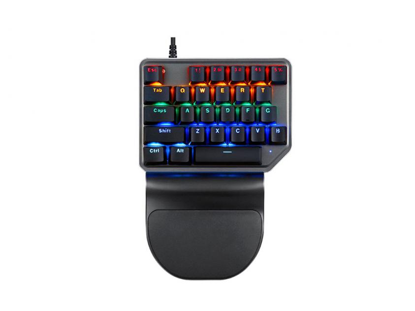 mini πληκτρολόγιο gaming Keypad motospeed K27 wired red switch