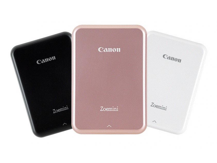 Μίνι εκτυπωτής Zoemini από την Canon, για εκτύπωση από κινητό χωρίς καλώδιο